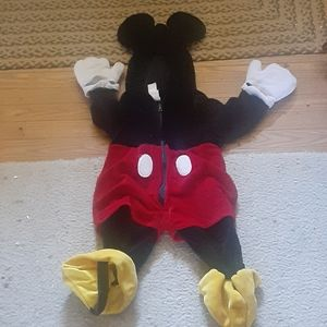 Mickey mouse  childs costume
